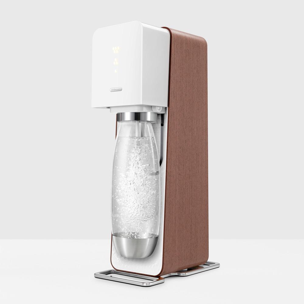 sodastream source wood sodastream. Black Bedroom Furniture Sets. Home Design Ideas